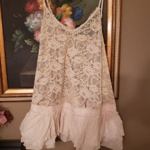 EASEL Ruffled Lace extender for tops / minis